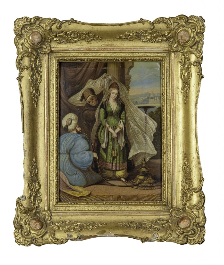Tapisserie depicting Ali Pasha and Kyra-Vassiliki, France, 19th c.