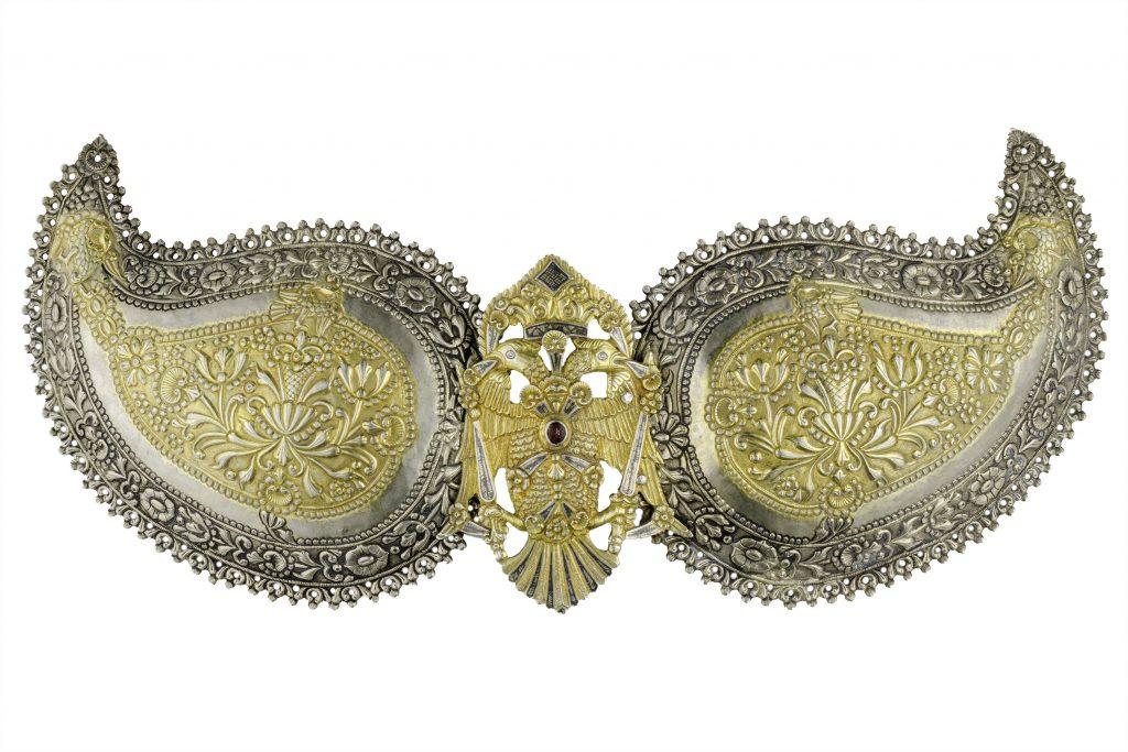 Silver pόrpi (belt buckle), Ioannina, 19th c.