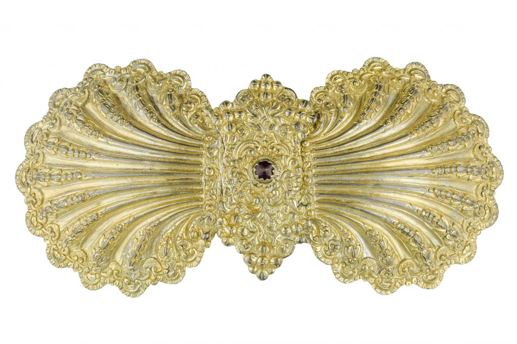Shell-shaped pόrpi (belt buckle), Kalarrytes, Epirus, 18th c.