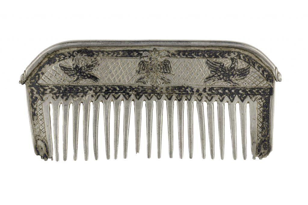 Niello silver comb, Ioannina, 19th c.