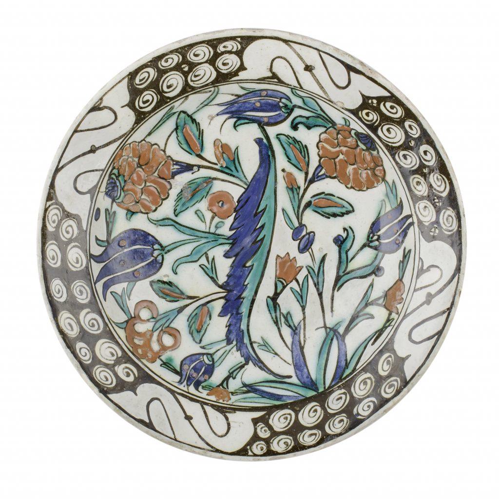 Iznik plates (from Nicaea), 17th c.